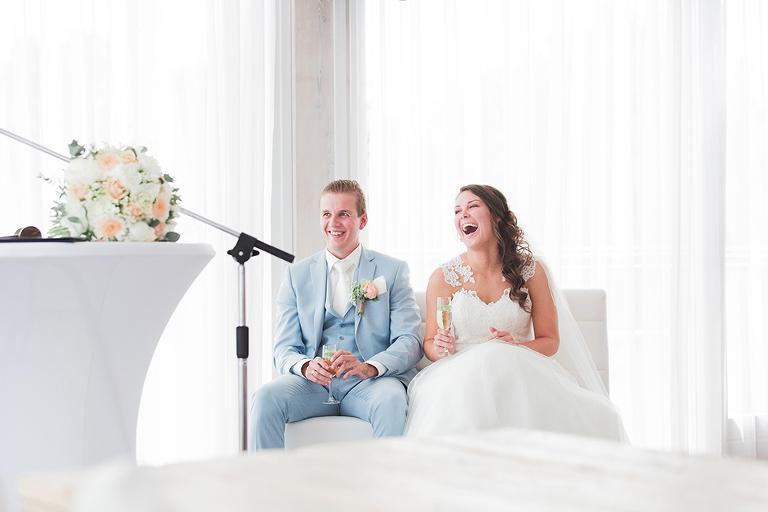 trouwfotograaf noord holland ceremonie blij