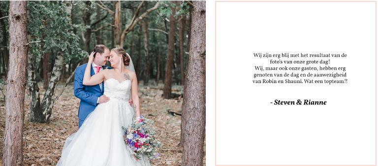 trouwfotograaf Noord-Holland alkmaar ervaring