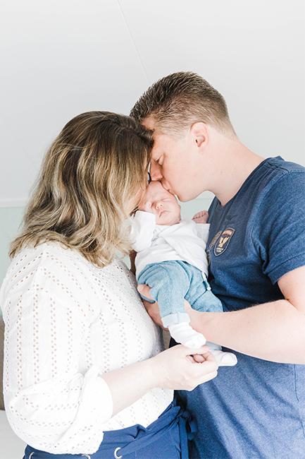newbornfotograaf alkmaar ouders hoorn