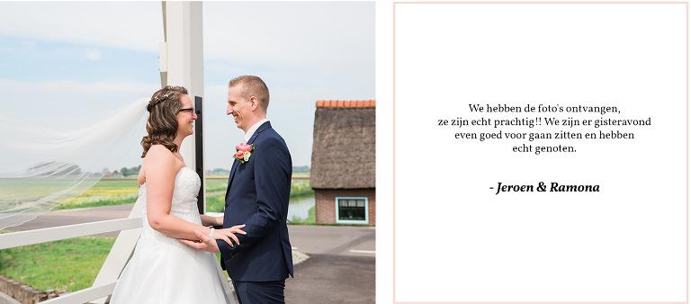 trouwfotograaf noord Holland spanbroek