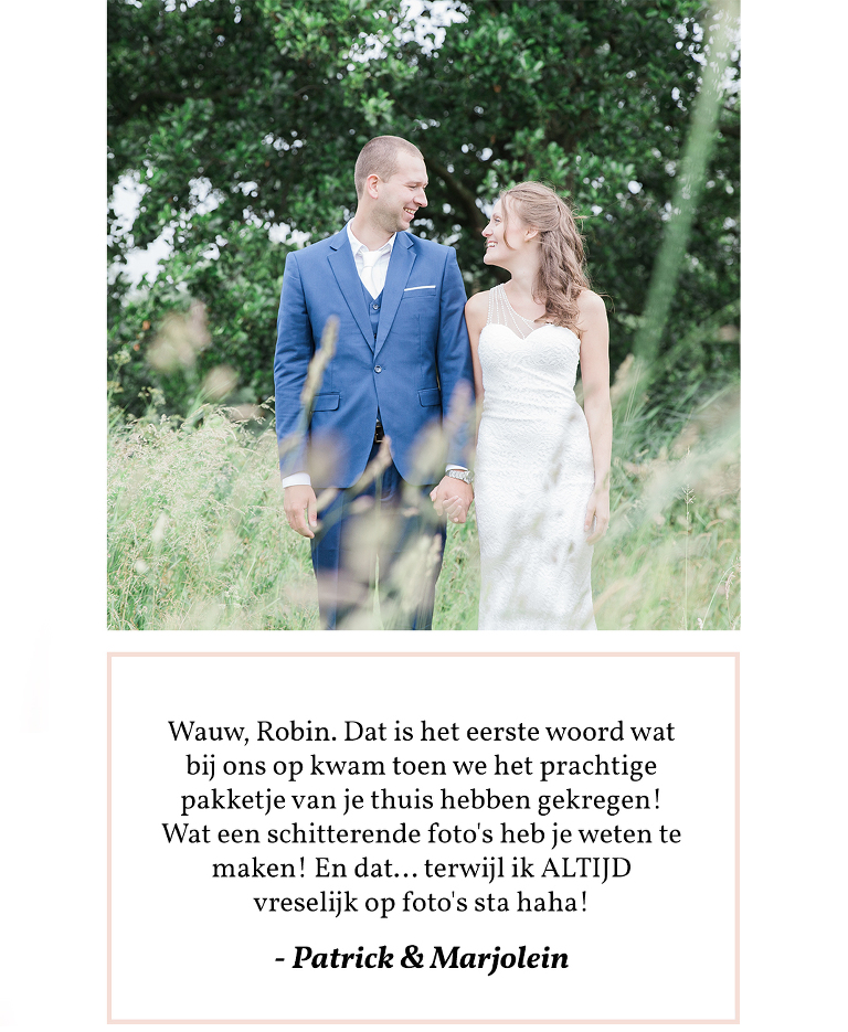 bruidsfotografie oostzaan noord Holland