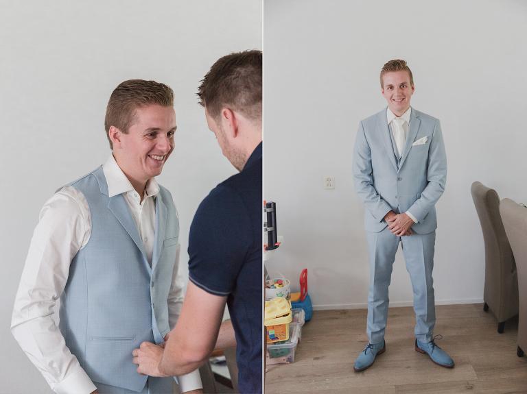 aankleding Davy bruidegom