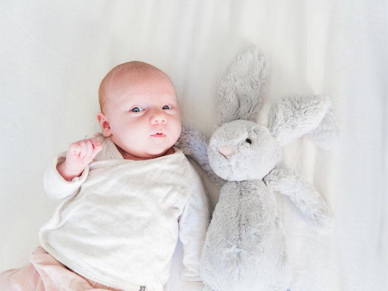Newbornfotograaf baby lizz